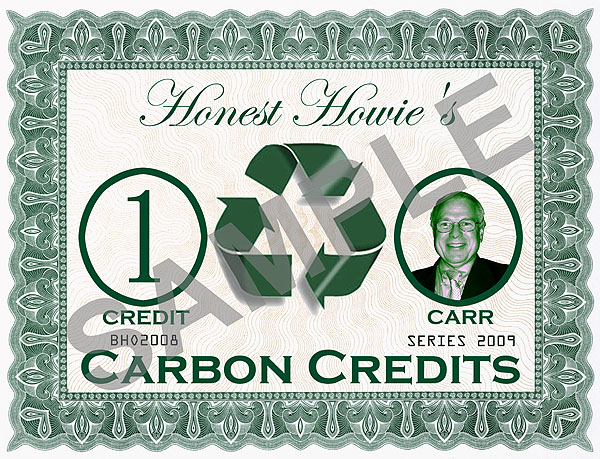 Carbon Credit Trading Done