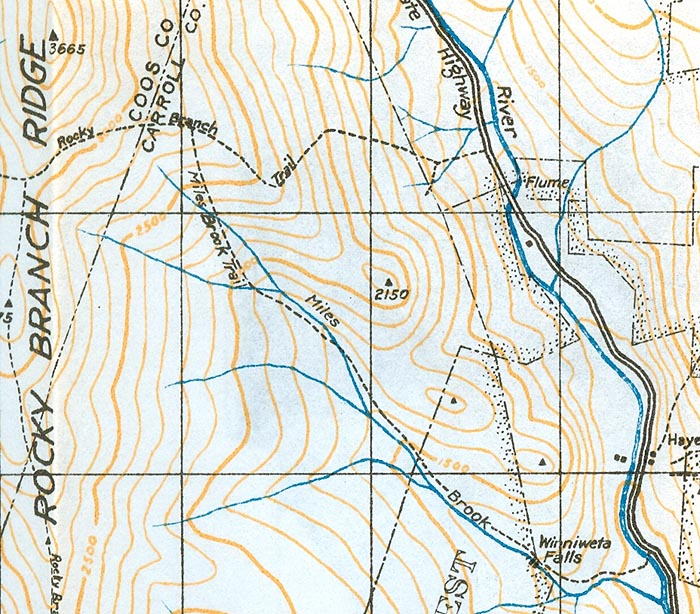 New England's Lost Hiking Trails